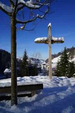 Tiefer Winter über Luthern Bad. (Bild: Isidor Rösch, 6. Februar 2019)