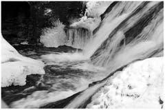 Impression aus Eis und Schnee bei der Mülenenschlucht. (Bild: Katharina Nagy)