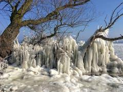 Bald geht's dem Eis am Bodensee an den Kragen. (Bild: Toni Sieber)