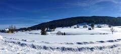 Hoher Hirschberg im Winterkleid. (Bild: Toni Sieber)