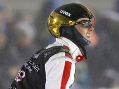 Noé Roth verblüffte mit dem Gewinn von Aerials-WM-Bronze (Bild: KEYSTONE/EPA/GEORGE FREY)