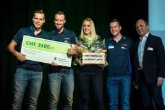 Gewinner in der Kategorie Teams waren die Faustballer des STV Wigoltingen. (Bild: Reto Martin)