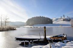 Winterstille im Ostergau. (Bild: Hedy Muff-Ruckli, Willisau, 8. Februar 2019)