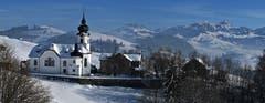 Winterliches Schlatt. Eine unerwartete Idylle im schönen Appenzellerland! (Bild: Walter Schmidt)