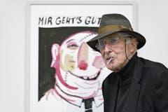 Ein Optimist durch und durch: Tomi Ungerer 2015 im Kunsthaus Zürich.