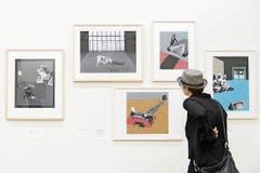 Blick in die Ausstellung «Incognito» im Kunsthaus Zürich. (Bild: Bilder: Anthony Anex/Keystone)