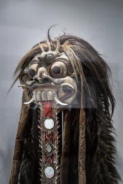 Geistermaske der Rangda (Indonesien, Bali, frühes 20. Jahrhundert). (Bild: Bilder: Michel Canonica)