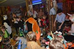 Die Fasnacht Müselbach – hier die Kinderfasnacht am Donnerstagnachmittag – stand unter dem Motto «Tierisch guet». (Bild: Beat Lanzendorfer, 28. Februar 2019)