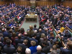 Das britische Unterhaus stimmt erneut gegen das Brexit-Abkommen. (Bild: KEYSTONE/EPA)
