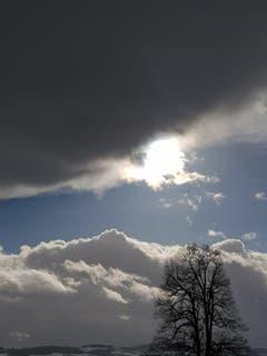 Wolkenbruch in Bischofszell. (Bild: Reto Schlegel)