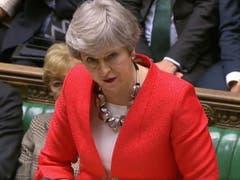 Trotz Last-Minute-Zugeständnissen votieren die Abgeordneten in London erneut gegen das Brexit-Abkommen von Premierministerin Theresa May. (Bild: KEYSTONE/EPA UK P)