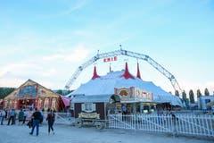 Der Zirkus Knie 2018 in Yverdon. (Bild: PD/Archiv Circus Knie)
