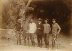 Der Club im Jahr 1919. Sie machten im Gründungsjahr Ausfahrten nach Zürich und um den Zugersee. (Bild: PD)