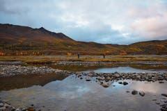 Claude Bauer und Daniel Aepli im Yukon-Gebiet in Alaska.