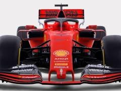 Im Ferrari SF90 soll Sebastian Vettel für die Roten den Titel holen (Bild: KEYSTONE/EPA FERRARI PRESS OFFICE/FERRARI PRESS OFFICE / HANDOUT)