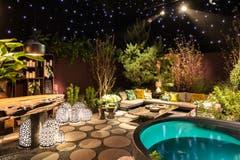 Erfuellt ein Garten alle Beduerfnisse, wird er zum Lieblingsplatzí, sagt Brian Wiss von Berger Gartenbau. Halle 1 / Stand B10 (PPR/Giardina/Stefan Schmidlin)