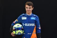 Lando Norris (GBR, 19), McLaren-Renault. Starts: 0, Siege: 0, WM-Punkte 0. (Bild James Ross/Epa (Melbourne, 14. März 2019))