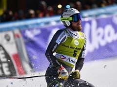 Kjetil Jansrud ist einer der geschlagenen Norweger im Kampf um den Disziplinensieg - er wird im letzten Super-G des Winters Vierter (Bild: KEYSTONE/EPA/CHRISTIAN BRUNA)