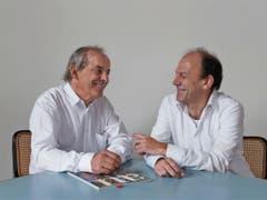 Prägten die Schweizer Architekturlandschaft: das Duo Marcel Meili und Markus Peter. (Bild Walter Mair) (Bild: Walter Mair)