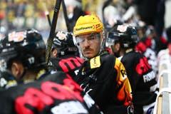 Der Ex-Zuger Dario Bürgler scheidet mit dem HC Lugano gegen ein starkes Zug aus. (Bild: Marusca Rezzonico/freshfocus, Lugano, 16. März 2019)