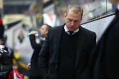Wie lange bleibt er noch Lugano-Trainer? Greg Ireland steht vor einer ungewissen Zukunft. (Marusca Rezzonico/freshfocus, Lugano, 16. März 2019)