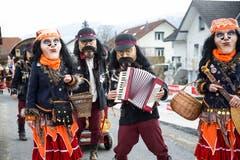 Auch sie waren unterwegs: Die Kulturfasnächtler Ruswil als Zigeuner. (Bild: Manuela Jans-Koch, Schachen, 2. März 2019)
