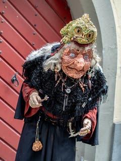 Eine kreative, alte Frau. (Bild: Theres Nussbaumer, Luzern, 2. März 2019)