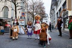 Impressionen von der Strassenfasnacht in der Stadt Luzern. (Bild: Jakob Ineichen, 2. März 2019)