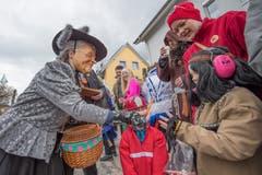 Die Tätsch-Häxe Luzern-Littau. (Bild: Pius Amrein, Dagmersellen, 2. März 2019)