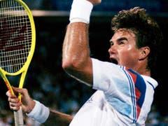 Nur einer hat mehr Profititel gewonnen als Roger Federer: Jimmy Connors führt die Bestenliste mit 109 Turniersiegen an (Bild: KEYSTONE/AP/ELISE AMENDOLA)