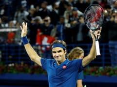 Bei 100 angelangt: In Dubai holte sich Federer am Samstag seinen 100. Titel (Bild: KEYSTONE/EPA/ALI HAIDER)
