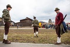 Waidmannsheil! (Bild: Patrick Hürlimann, Zug, 02. März 2019)
