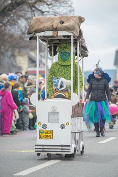 Die Chrüzberger Gnome. (Bild: Pius Amrein, Dagmersellen, 2. März 2019)