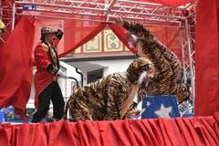 Die Sumpftüüfel Gonten bringen den Zirkus Knie nach Appenzell.