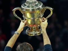 Federers erfolgreichste Turniere: Die Swiss Indoors in Basel... (Bild: KEYSTONE/GEORGIOS KEFALAS)