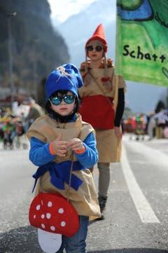Umzug Schattdorf. (Bild: Urs Hanhart, 2. März 2019)