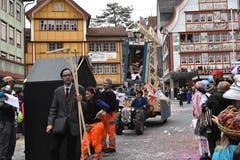 Bauboom in Appenzell: Ein Fertighaus, aufgestellt in zwei Minuten.
