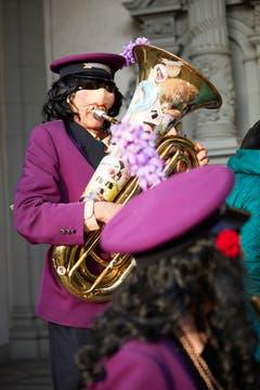 An der Guuggermesse in der Luzerner Hofkirche. (Bild: Jakob Ineichen, 2. März 2019)