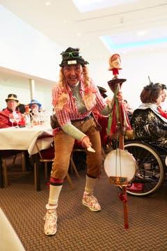 Seniorenfasnacht im Casino Luzern. (Bild: Jakob Ineichen, Luzern, 2. März 2019)