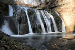 Der Bielbach Wasserfall. (Bild: Irene Wanner, Werthenstein, 21. März 2019)