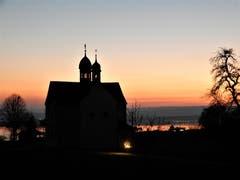 Der Sonnenuntergang vom Zugerberg. (Bild: Margrith Imhof-Röthlin, Zugerberg, 23. März 2019)