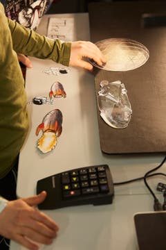 Die Schüler der fünften Primarklasse aus Stansstad kreieren ihren eigenen Trickfilm: Der Flug zum Mars.