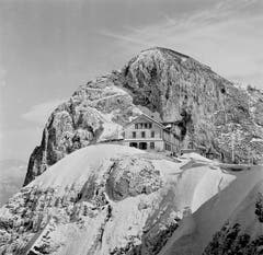Pilatus Kulm 1937. (Bild: Karl Manz/ Aura)