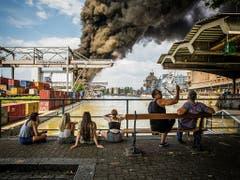 Fotograf Stefan Bohrer gewinnt den «Swiss Press Photo»-Preis in der Kategorie «Aktualität». (Bild: Stefan Bohrer)