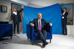 2. Preis Portrait: Jahreswechselgespräch mit Tony Blair, Interview in London. (Bild: Urs Jaudas für den «Tages-Anzeiger»)