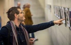 """Vernissage der Leserbilder-Ausstellung der Thurgauer Zeitung """"XY aus Z fotografierte in..."""" 2018 im Foyer des Dreispitzes in Kreuzlingen. (Bilder: Reto Martin)"""