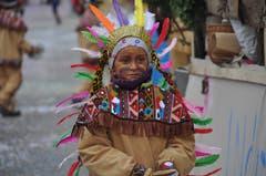 Indianer – ein beliebtes Sujet.