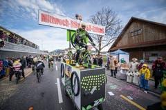 Die Mittwoch Biker Ettiswil. (Bild: Roger Grütter, Ettiswil, 3. März 2019)