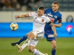 Captain Marek Suchy sicherte dem FC Basel mit seinem Treffer in der 81. Minute den Sieg (Bild: KEYSTONE/URS FLUEELER)