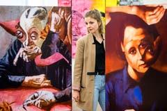 Impressionen von der Vernissage der Ausstellung K+ Pop-Up der HSLU Design und Kunst in der akku Kunstplattform in Emmenbrücke. (Bilder: Philipp Schmidli, 29. März 2019)